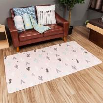 愛美百貨│90x160CM 純棉舒柔可機洗布藝防滑絎縫墊 沙發墊 坐墊 地墊