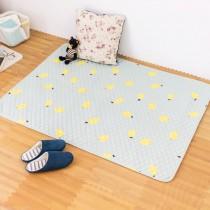 愛美百貨│90x120CM 純棉舒柔可機洗布藝防滑絎縫墊 沙發墊 坐墊 地墊