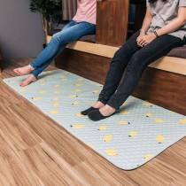 愛美百貨│70x180CM 純棉舒柔可機洗布藝防滑絎縫墊 沙發墊 坐墊 地墊