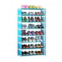 愛美百貨│加高款超大八層防塵DIY組合式鞋櫃(鞋架 鞋櫃 收納櫃)