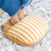 愛美百貨|法國麵包暖腳枕多功能枕35x30cm