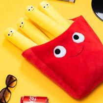 愛美百貨|仿真薯條造型抱枕療癒家飾玩偶
