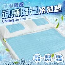 愛美百貨│重量級超清涼萬用冷凝墊組 冰涼墊 寵物墊 1床+2枕