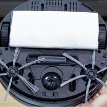 愛美百貨|(耗材專用)樂嫚妮 掃地機器人285G智慧型吸塵器專用除塵紙1包100張裝
