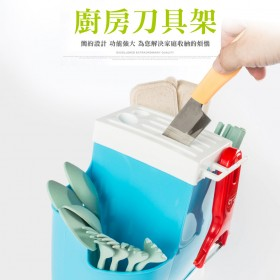 愛美百貨│廚房刀具收納架 湯匙筷籠 瀝水架