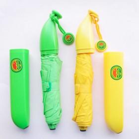 愛美百貨│香蕉造型三折雨傘