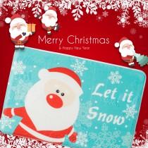 愛美百貨│聖誕地墊 耶誕 聖誕老公公 麋鹿 柔軟 防滑 加厚 防滑墊 隨機款式出貨
