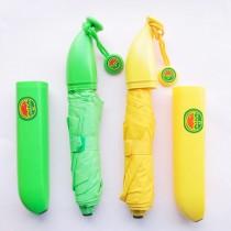 愛美百貨│香蕉造型三折雨傘 F009