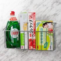 愛美百貨|無痕系列免釘免鑽強力貼片斜角置物架 MIT 瓶罐收納架 沐浴乳洗髮乳收納【IBS-636】