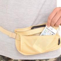 愛美百貨│貼身運動腰包 旅行收納防盜腰包 T012