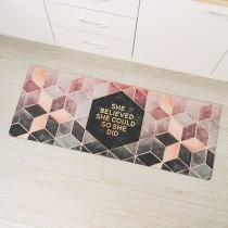 愛美百貨|(預購/現貨)時尚美型PVC皮革地墊 玄關墊 廚房地墊 45x120公分