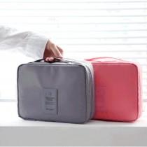 愛美百貨│素面旅行收納化妝品盥洗包 洗漱包 沐浴包 六色可選