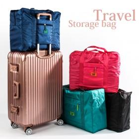 愛美百貨│韓版行李箱拉桿掛桿收納包 旅行收納袋 四色可選