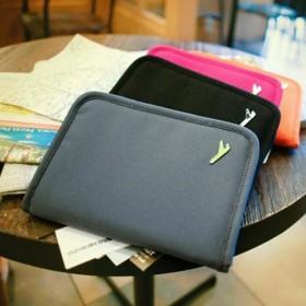 愛美百貨|(NG福利品)小飛機短版護照夾 短夾 護照包 旅行收納包 S020